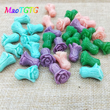 10pcs/lot Cabbage Shaped Coral Beads For Jewelry Making Necklace Bracelet Multi-color Fashion Coral Beads Accessories Wholesale недорого