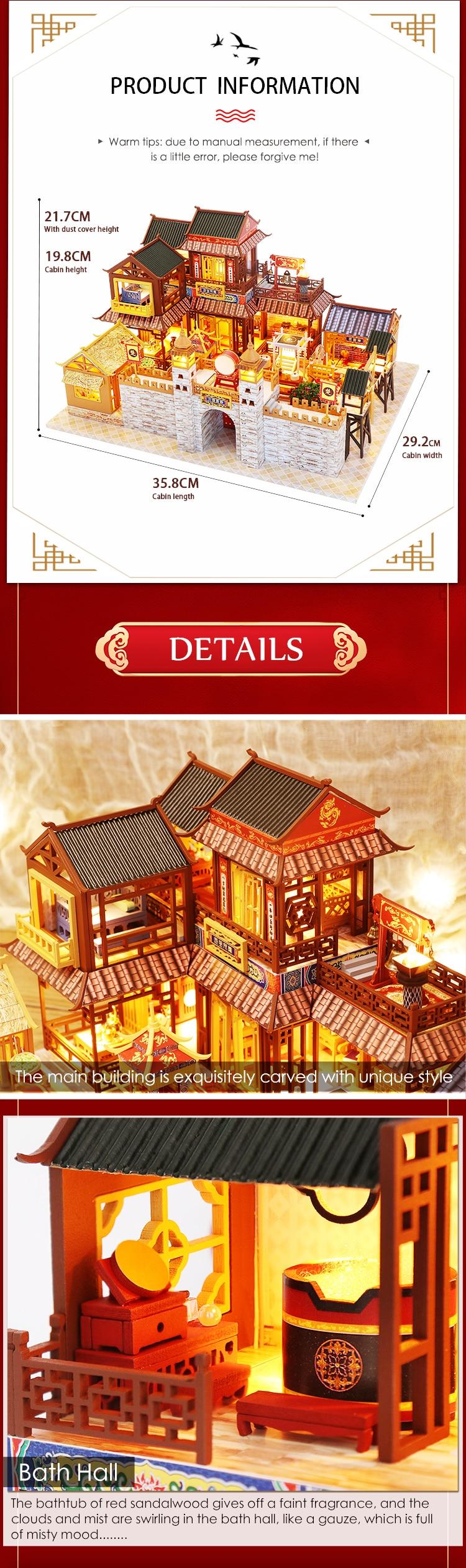Life Long Love Japanese Style Miniature House Kit