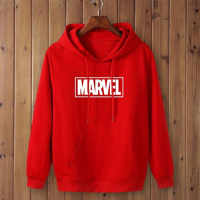 Marvel Logo Hoodie Unisex (16 Colors) 3
