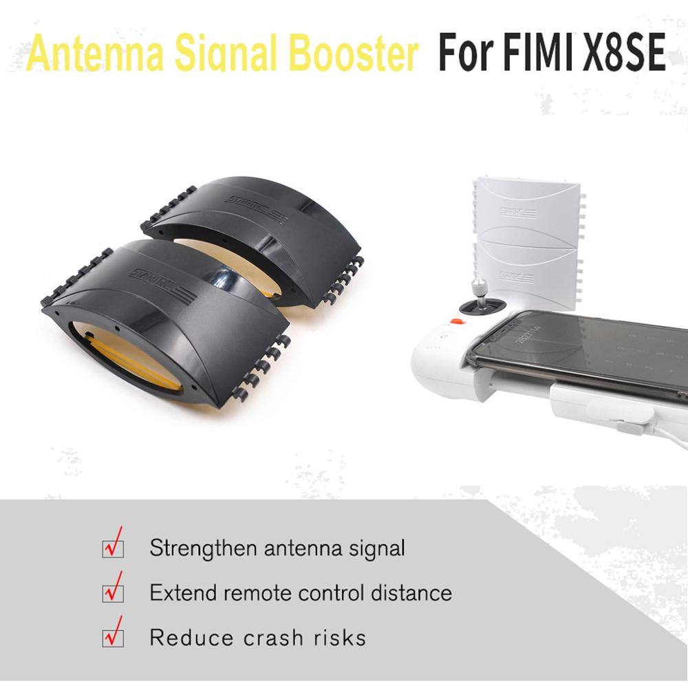 4pcs/Set Signal Extender Amplifier Antenna Range Booster For FIMI X8 SE RC Drone Camera Drone Accessories &xs