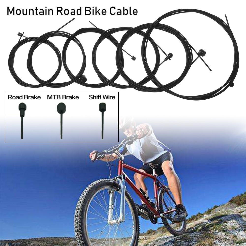 T TOOYFUL 2 Pcs MTB Road Bike Brake Cable Galvanized Brake Wire Core Inner Line1.1M//2M