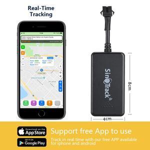 Image 4 - Dispositivo de seguimiento de vehículos GSM GPRS, rastreador GPS de coche, localizador de Monitor, Control remoto, GT02A, para motocicleta, con aplicación gratuita, novedad de ST 901A