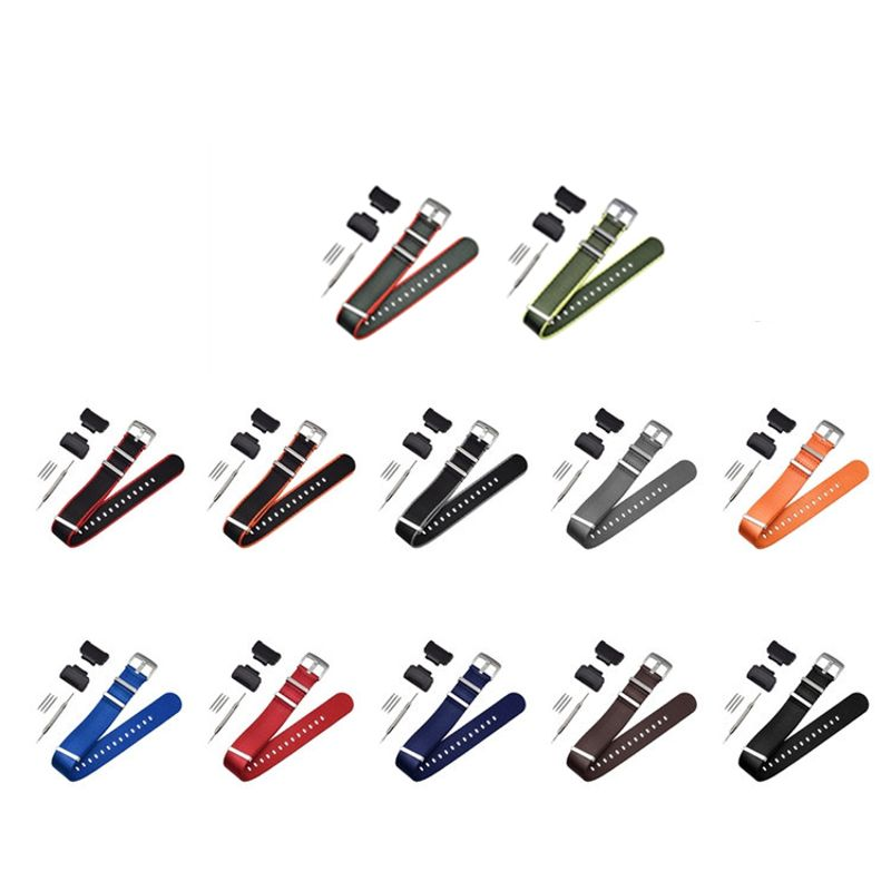 1Set Nylon Watchband Metal Buckle Wrist <font><b>Strap</b></font> for Casio G-Shock GA-110 <font><b>DW</b></font>-<font><b>5600</b></font> image