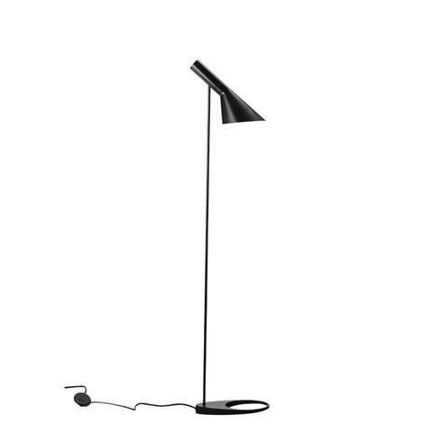 moderna luz de assoalho nordic lampada aj arne jacobsen e27 led lampadas assoalho sala estar