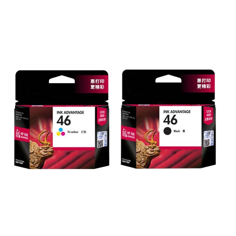 Original New 46 Printhead For HP 46 Ink Cartridge For HP Deskjet 2020hc 2520hc 2029 2529 4729  Print Head
