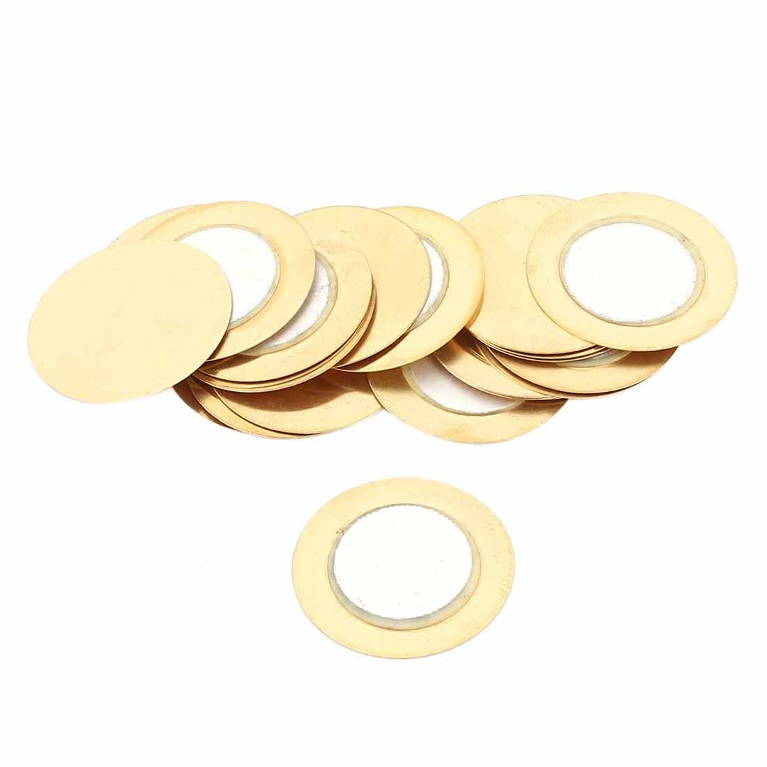 20pcs/Lot 35mm Piezoelectric Piezo Ceramic Wafer Plate Buzzer Loudspeaker Dia For Arduino Diy Electronic Piezo Buzzers