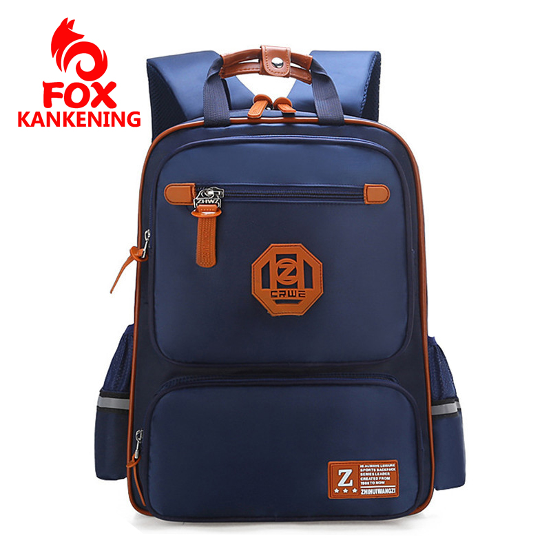 Waterproof Backpack For Girls Boys 2019 Kids Baby School Student Bag Polyester Fashion School Bags Mochila Infantil 2 sizes image