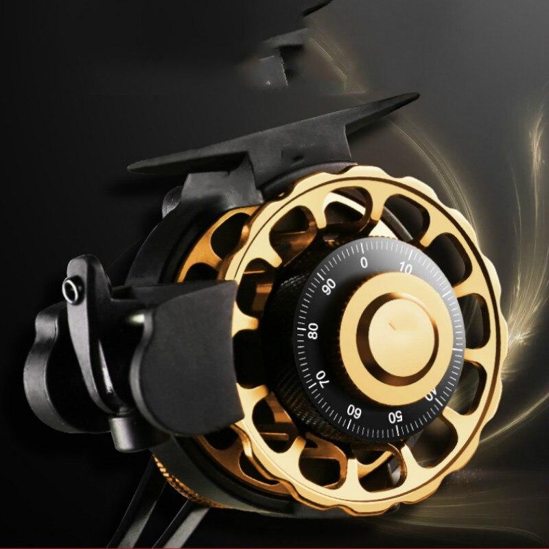 Bobine De radeau en métal moulinets De pêche à la mouche 10 + 1BB roue De ligne De poisson pour la pêche De la carpe Carretilha Super forte Molinete De Pesca Pesca Peche