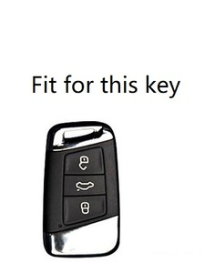 Image 3 - ไม้กรณีรถAuto Remote Key ShellสำหรับVolkswagen 2016 2017 Passat B8 Skoda Superb A7รถอุปกรณ์เสริม