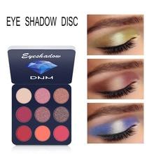 Beauty Glazed 9Colors Nude Eyeshadow Makeup Pigments Waterproof Professional Shimmer Glitter Eye shadow Make up Palette New