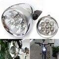 Ретро 7 светодиодный MTB велосипедный светильник  водонепроницаемый велосипедный светильник  передняя фара  дорожный флэш-светильник  кронш...