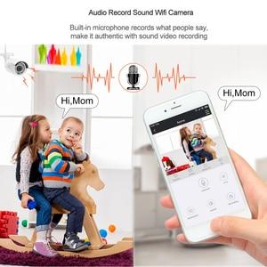 Image 4 - Techage H.265 8CH 1080P Wireless NVR Kit di Sicurezza CCTV Sistema di 2MP Esterna Impermeabile Audio IP di WiFi della Macchina Fotografica di Video Sorveglianza set