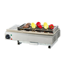 лучшая цена BE-580 Portable Oven Environmentally Friendly Smokeless Barbecue Commercial Skewer Barbecue Household Smokeless Electric Stove