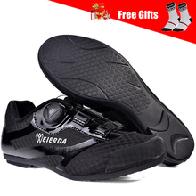 Brand Men Women Cycling Shoes No Lock Breathable Road Bike Shoes Riding Mountain Bicycle MTB Shoes with Antislip Rubber Sole boodun breathable mountain cycling shoes leisure sports outdoor mtb road bike bicycle lock riding shoes women