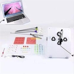 1 set von laparoskopische chirurgie training simulator, Nadel-haltezange, trennung zange, trennung clip, lehre ausrüstung