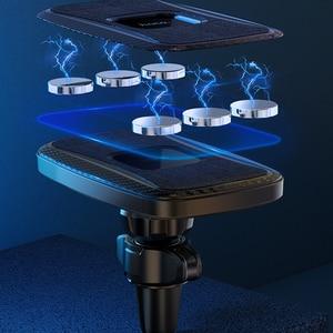 Image 4 - HOCO автомобильное Qi Беспроводное зарядное устройство 15 Вт Быстрая зарядка подставка для iPhone 12 pro Max 12 Мини Автомобильный держатель для телефона магнитное крепление на вентиляционное отверстие