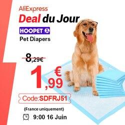 Hoopet Pet Training Pads Super Absorberende Luier Voor Honden Hond En Puppy Lekvrije Pee Pads Met Quick-droog Oppervlak Hond Producten
