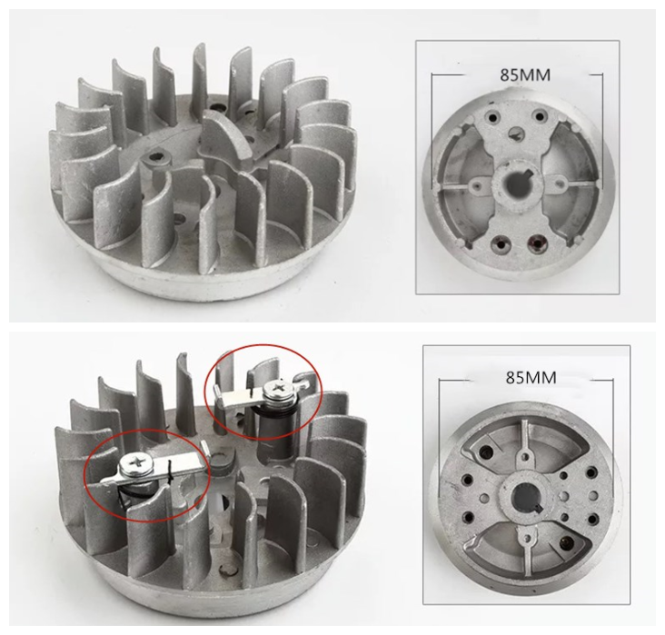 1E40F-6 Brush Cutter Grass Trimmer Magneto Flywheel FIT 40-6 STRIMMER TRIMMER BRUSH CUTTER PART PARTS