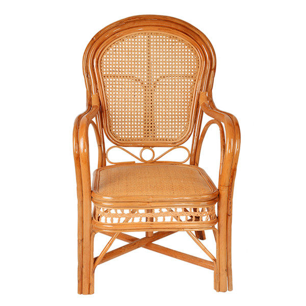 Natural rattan chair balcony outdoor table and chair three-piece combination table and chair leisure garden garden chair