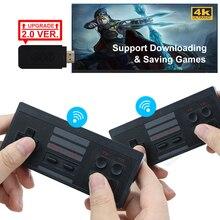 USB 무선 핸드 헬드 TV 비디오 게임 콘솔 818 클래식 8 비트 게임 미니 콘솔 듀얼 게임 패드 HDMI 호환 출력