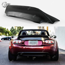 FRP Wing Trim For Mazda MX5 NC NCEC Roadster Miata EPA Glass Fiber Rear Duckbill Spoiler wing lip (Soft Top Only) car styling frp fiber glass nefd rear spat large fit for hyundai veloster turbo only