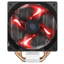 Enfriador de CPU Master T400i T400, 4 tubos de calor, 120mm, PWM, ventilador silencioso para Intel LGA 775, 115x2011, AMD, AM3, AM4, refrigeración de CPU de ordenador