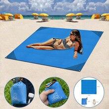 Beach Mat Outdoor Travel Magic Sand Free Mat Beach Picnic Camping Waterproof Mattress Blanket Foldable Sandless Beach Mat#g3