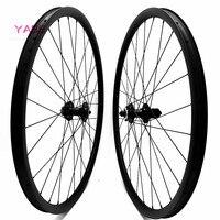 Mountain Bike wheel set 29er mtb wheelset 34x30mm tubeless mtb carbon wheels FASTace DA206 100x15 142x12mm carbon disc wheel