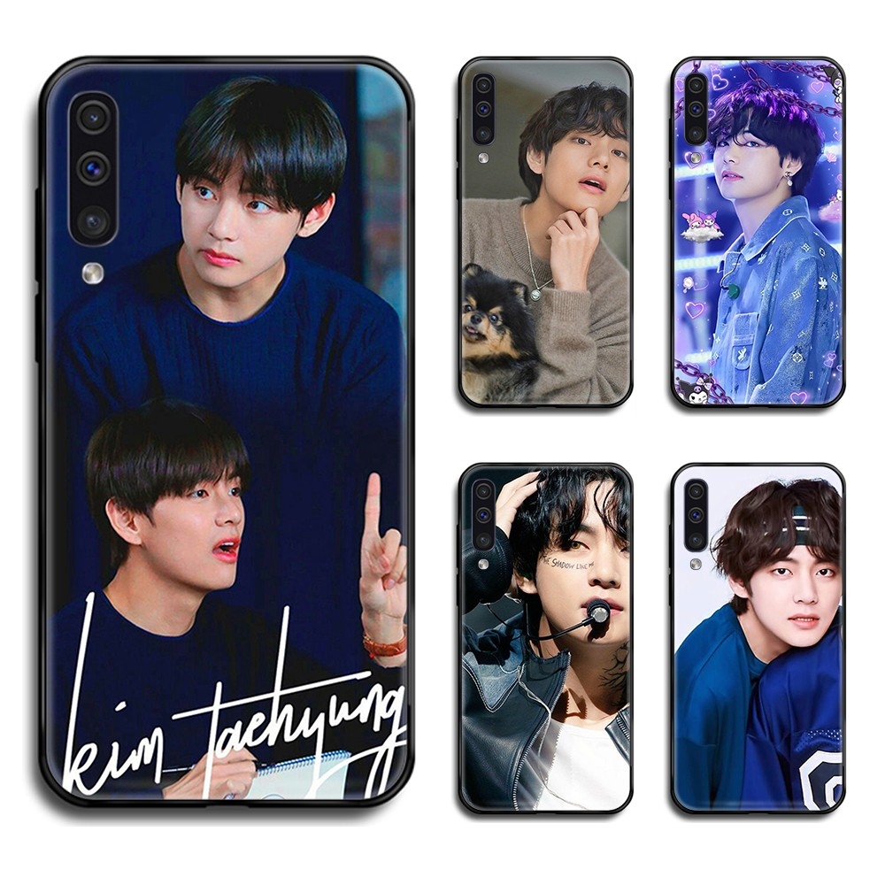 Bangtan Boys V Kim Tae Hyung Phone Case Cover Hull For Samsung Galaxy A 10 20 30 S E 40 50 51 <font><b>70</b></font> 71 J 5 6 7 8 2017 <font><b>2018</b></font> image
