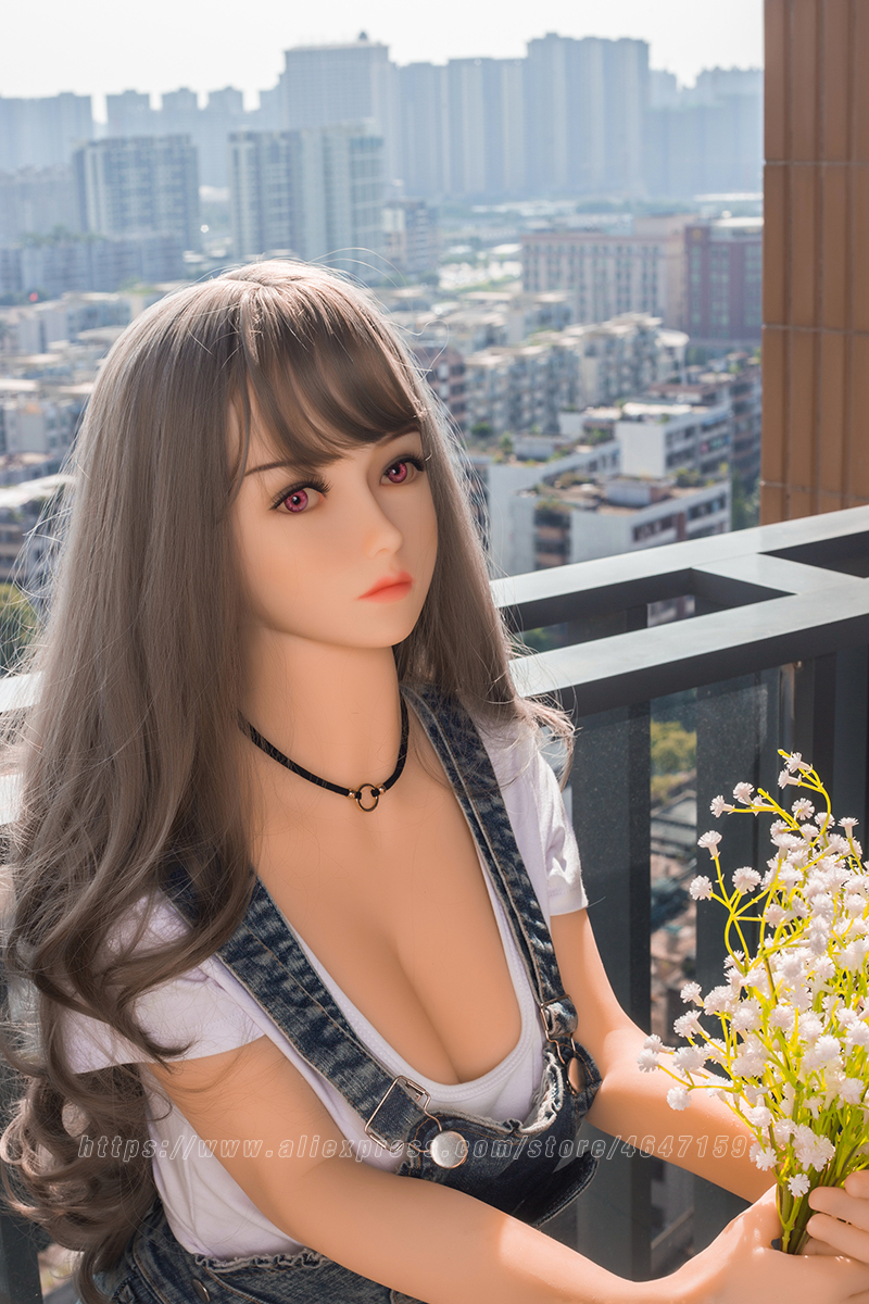 Image 5 - 158cm Lifelike Real EU Sex Doll, Full Size Silicone with Skeleton Love Doll Adult for Men Toys Big Breast Sexy Mini Vagina-in Sex Dolls from Beauty & Health