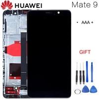 5.9 ''LCD Novo Para HUAWEI Companheiro 9 Display LCD Touch Screen Digitador com Frame para o Huawei Companheiro 9 Exibição MHA-L29 Substituição