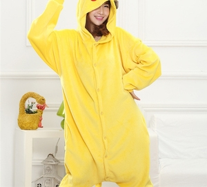 Anime Adult Pikachu Unicorn Onesie Flannel Women Pajamas Animal Costume Fancy Pokemon Cosplay Onepiece Sleepwear