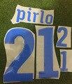 2010 itália conjunto de nomes #21 pirlo #10 totti #5 cannavaro maldini nesta impressão reunindo personalizar qualquer nome número transferência térmica