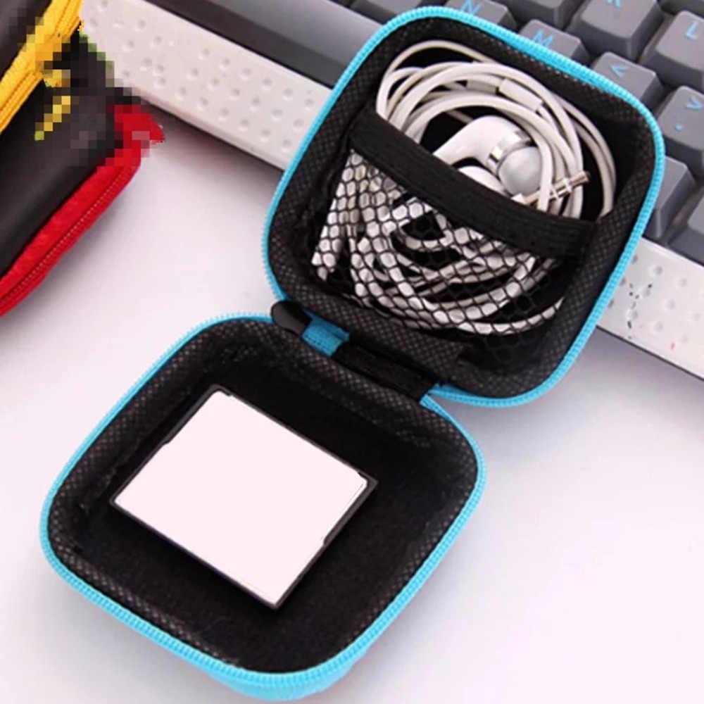 المحمولة الهاتف المحمول سماعة مربع مصغرة السلطة حزمة كابل نقل بيانات حماية حقيبة مربع التشطيب الرقمية القرص صندوق تخزين حقيبة التخزين