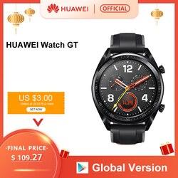 В наличии глобальная версия HUAWEI Watch GT Смарт-часы 1,39 ''AMOLED экран 14 дней Срок службы батареи 5 атм водонепроницаемый трекер сердечного ритма не ...