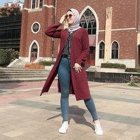 Sueter Mujer Invierno 2019 Winter Sweater Women Knitted Long Cardigan Mujer Clothes Robe Cardigans Pull Femme Casaco Feminino