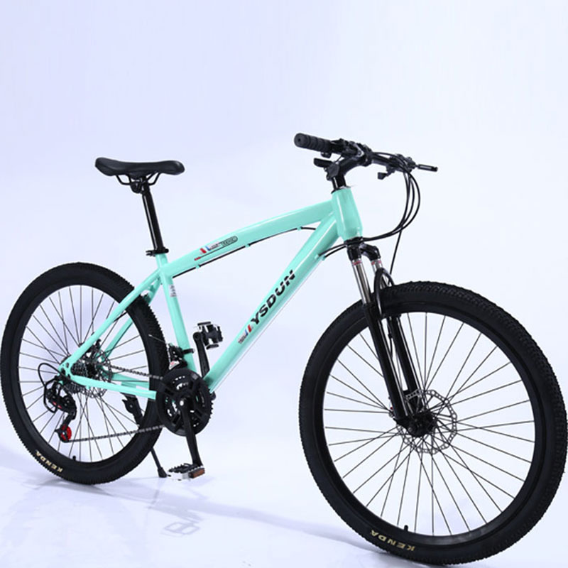 Mountain Bike Man Student Youth Racing Women Speed Double Disc Brakes Shock Off Road Steel Adult Bicycle