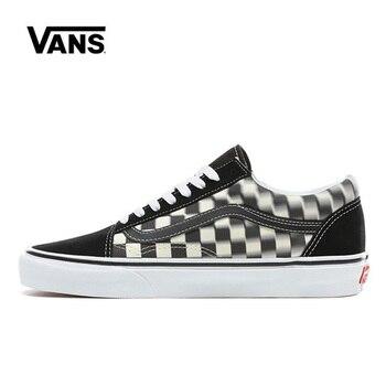 цена на Vans Old Skool Women Shoes Original Sneakers Unisex Vans Men's Shoes Skateboarding VN0A38G1VJM