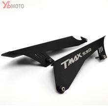 Accesorios de motocicleta CNC, Protector de la cubierta de la correa de la cadena de protección para YAMAHA TMAX530 TMAX 530 SX DX T MAX 2003 2012 2017