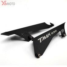 Acessórios da motocicleta cnc corrente guarda cinto capa protector para yamaha tmax530 tmax 530 sx dx T MAX 2017 2018 2019