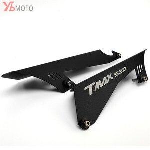 Image 1 - CNCรถจักรยานยนต์อุปกรณ์เสริมCHAIN GUARDเข็มขัดสำหรับYAMAHA TMAX530 TMAX 530 SX DX T MAX 2017 2018 2019