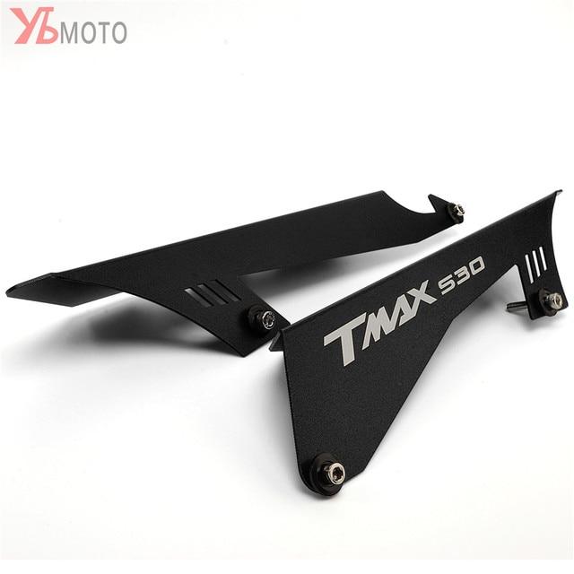 CNCรถจักรยานยนต์อุปกรณ์เสริมCHAIN GUARDเข็มขัดสำหรับYAMAHA TMAX530 TMAX 530 SX DX T MAX 2017 2018 2019