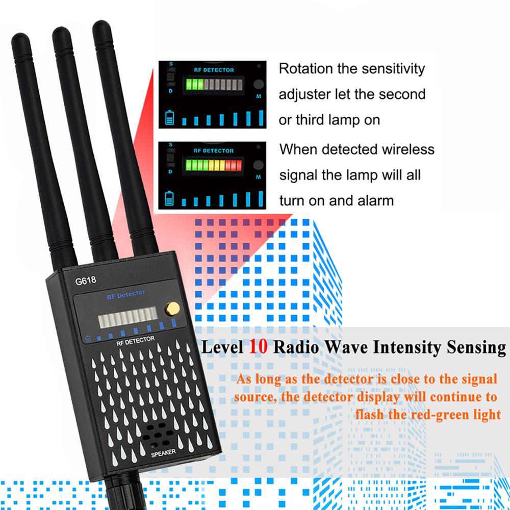 Three-Antennas-RF-Signal-Hidden-Camera-Detector-Pinhole-Button-camera-Detector-Audio-Bug-GPS-GSM-Device (4)