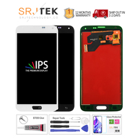 TFT For Samsung S5 G900F Display LCD Screen Touch Digitizer Assembly Compatible IPS for Samsung Galaxy S5 LCD G900 G900F Display