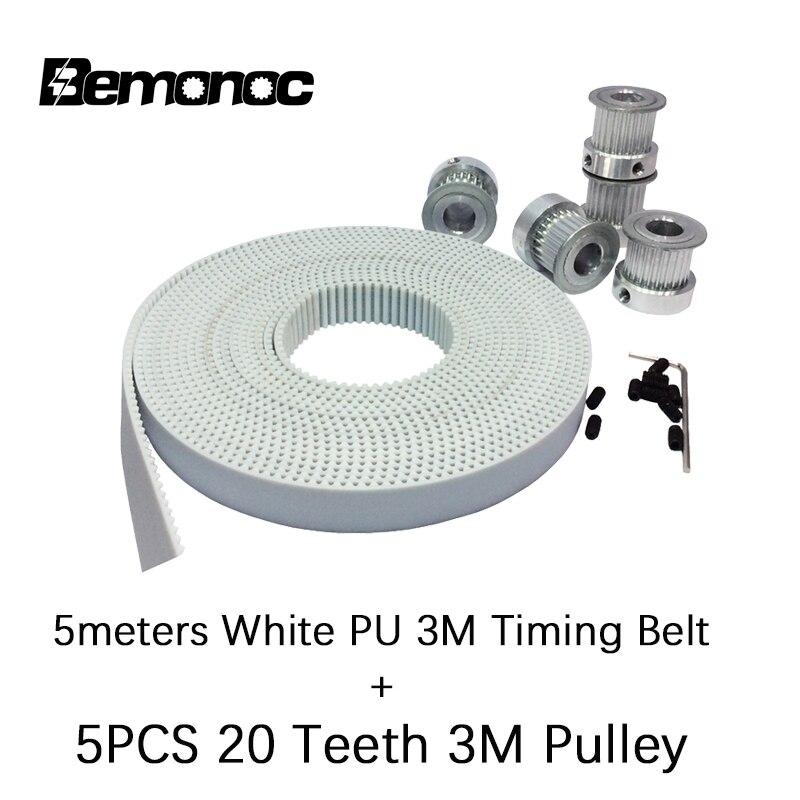 HTD3M timing belt width 15mm PU-15mm Belt for CNC and Laser Machine HTD PU