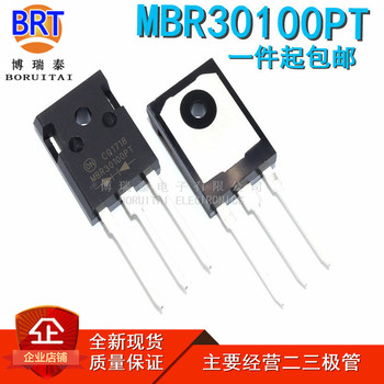 10pcs/lot MBR30100PT TO-247 MBR30100 TO-3P 30100PT 30A 100V Schottky diode image