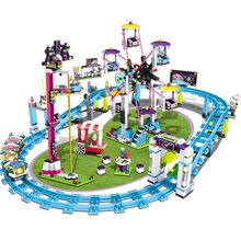 New Heartlake City Park Love Hospital Friends Livi's Pop Star House 41135 Girls Building Blocks Compatible legoinglys toys(China)