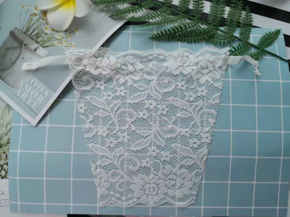 Beautiful Red all lace modesty panel