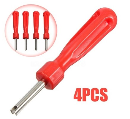 Wrench | Remover Tool Core Tire Driver Repair 4pcs Screw Valve Wish Tyre Removal