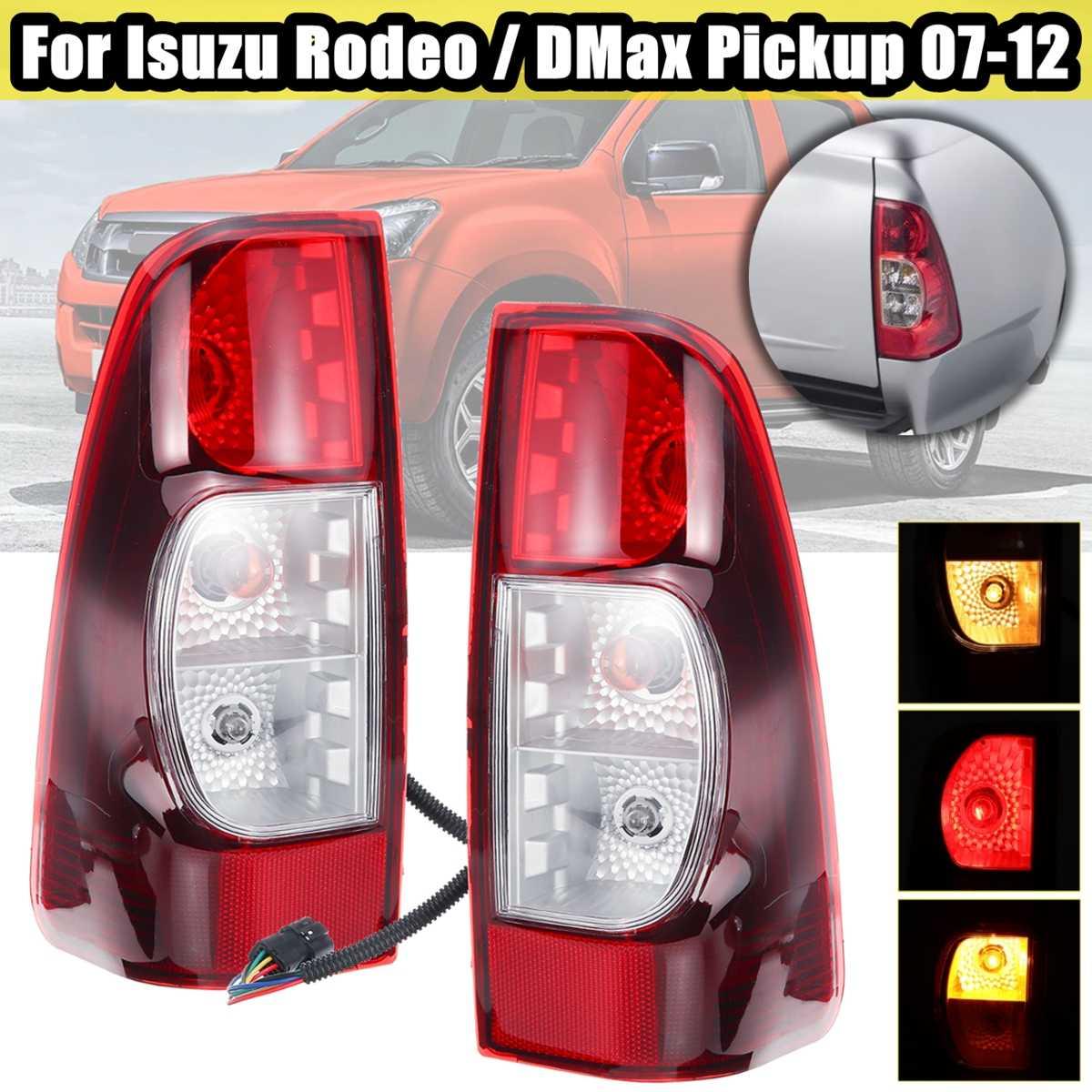 Left Led Tail Rear Lamp Light Isuzu Rodeo D-Max Dmax Hi-lander 2011 2012 2014